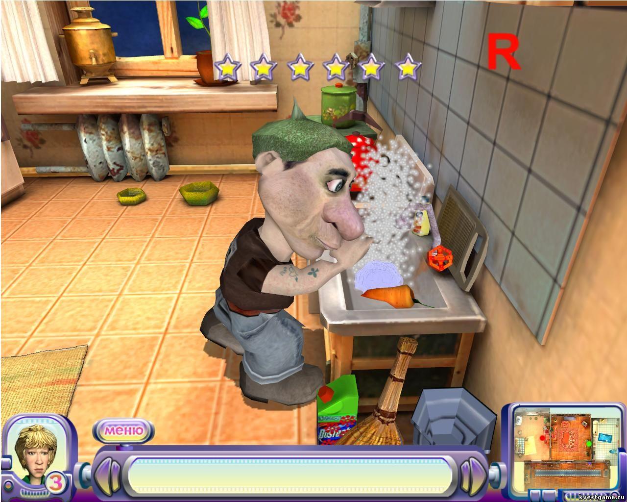 Сантехник на кухне