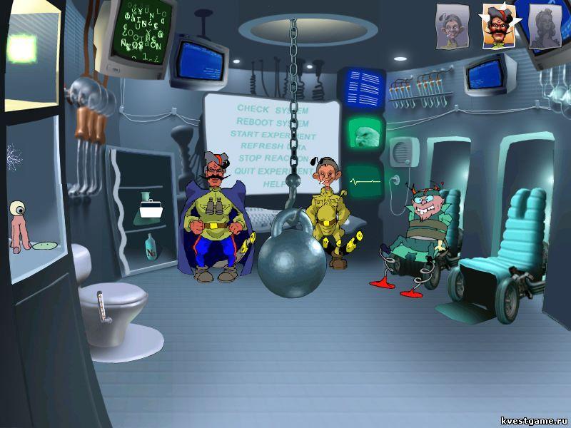 Петька 3 - лаборатория ученого