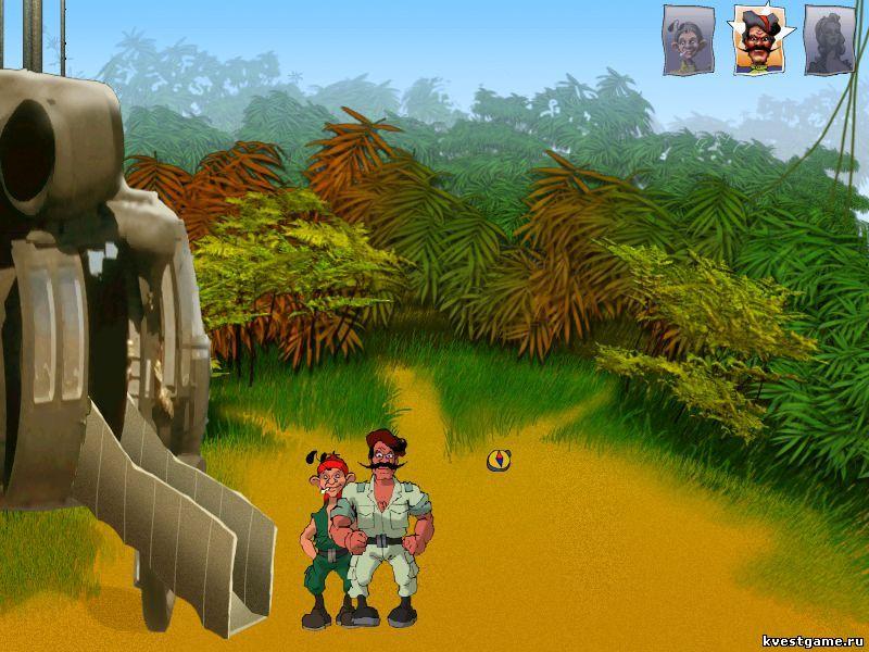 Петька 3 - Петька и Чапаев высадились в джунглях