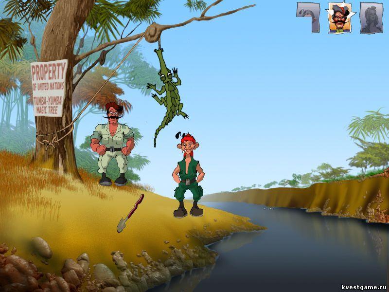 Петька 3 - Как поймать крокодила