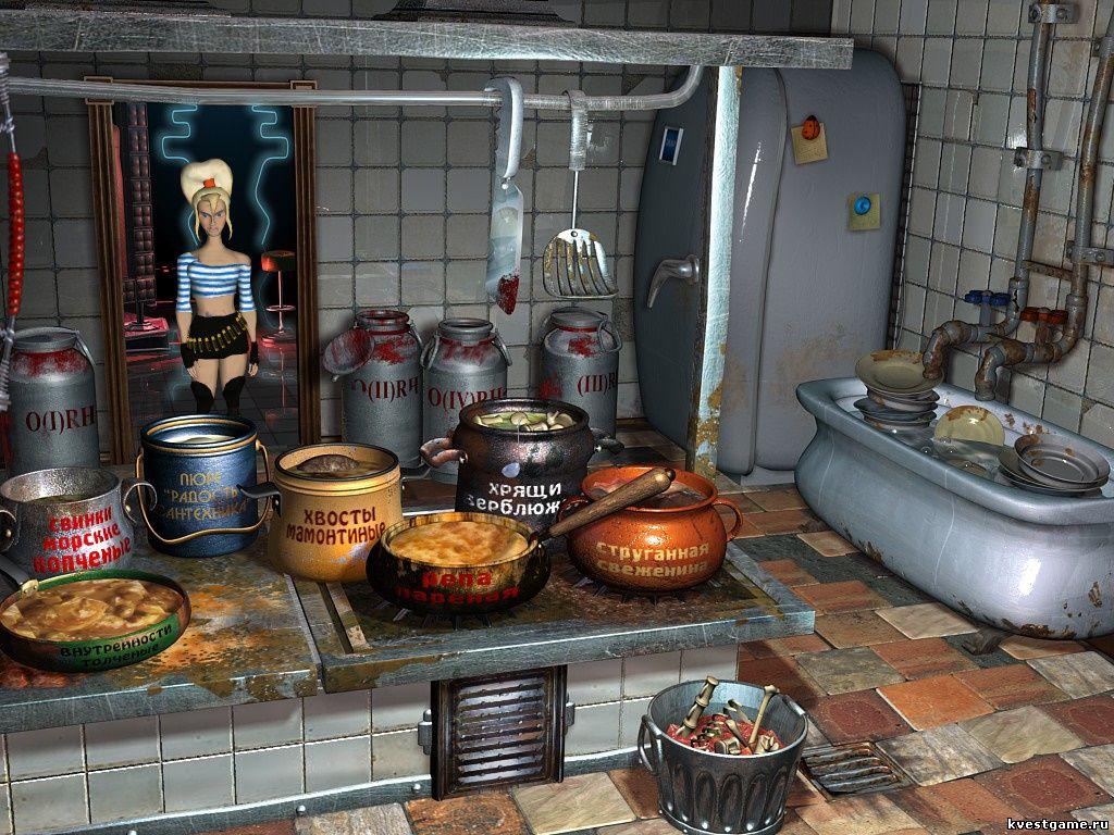 Петька 6 - Кухня (уровень 2)