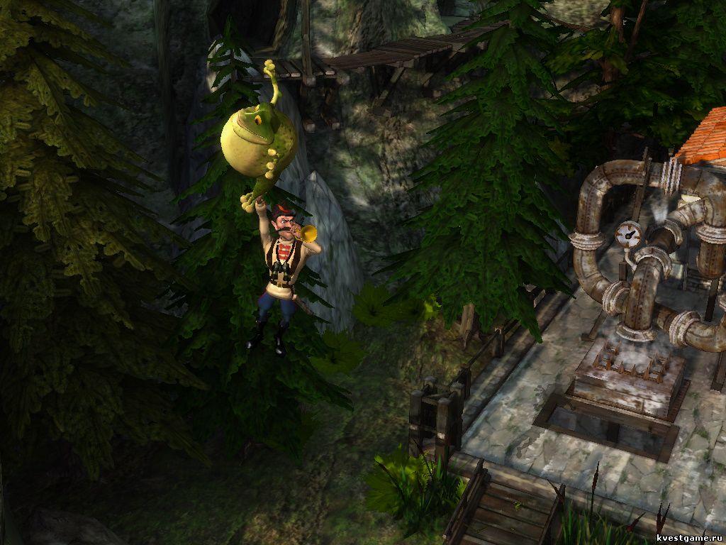 Петька 8 - Чапаев летит на жабе (уровень 7)