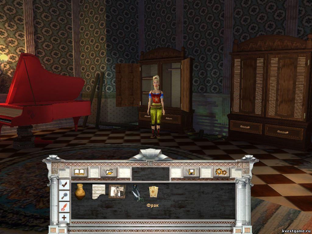 Петька 8 - Шкафы в комнате Анки (уровень 1)
