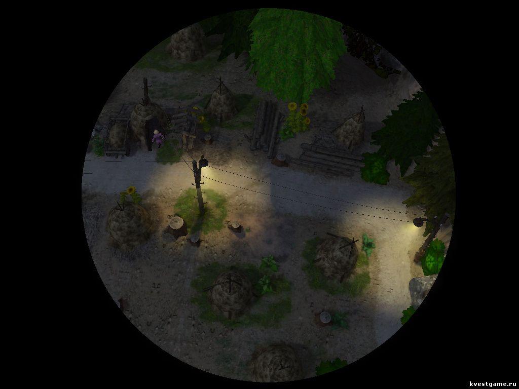 Петька 8 - Местонахождение тайного входа в склеп (уровень 1)