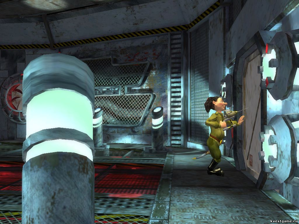 Петька 8 - Зал с телепортом (уровень 2)
