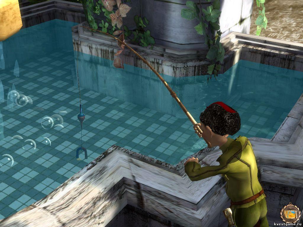 Петька 8 - Вылавливаем монету из фонтана (уровень 4)