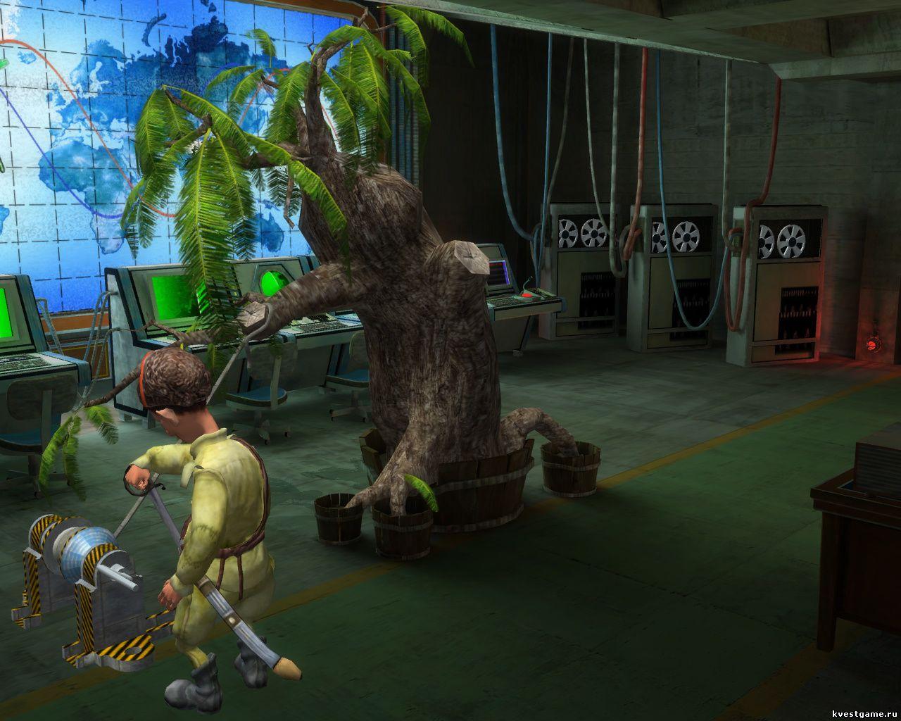 Петька 9 - Петр достает шифровальщика из дупла дерева (уровень 5)