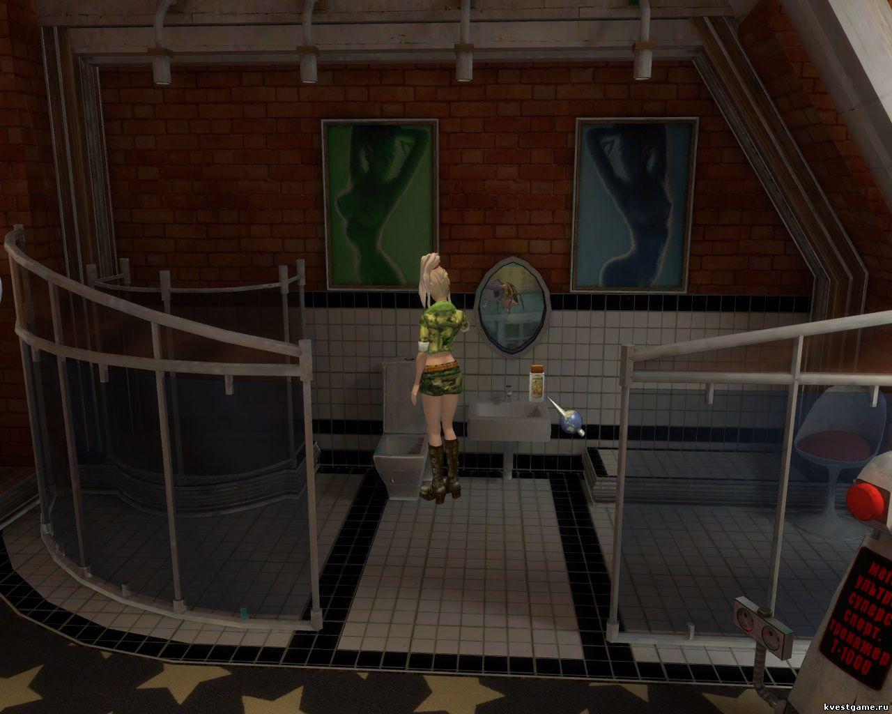 Петька 9 - ванная комната в квартире маньяка (уровень 1)