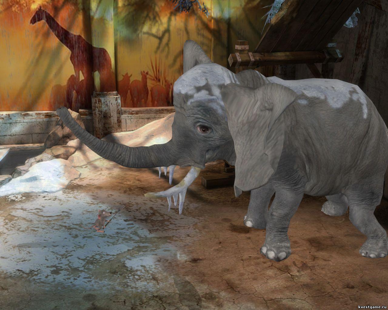Петька 9 - как напугать слона (уровень 4)