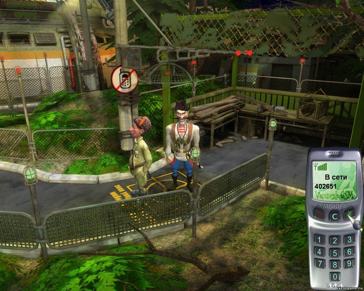 Петька 9 - Чапаев узнает телефон в бункер (уровень 5)