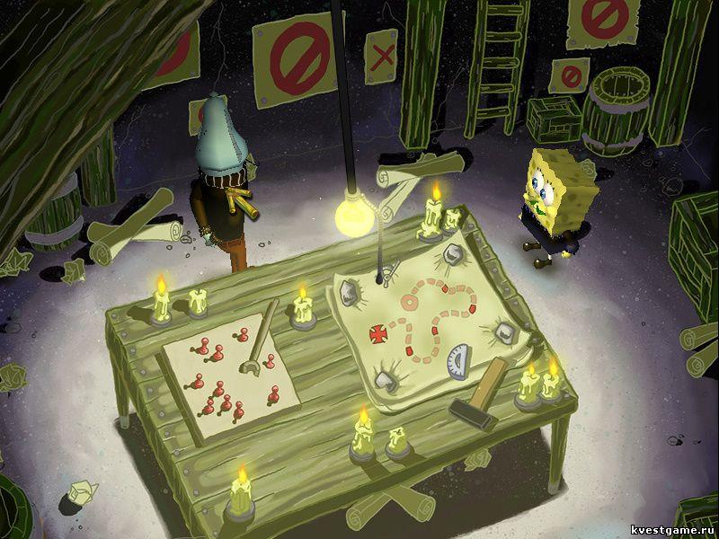 Губка Боб квадратные штаны: Игра по фильму - СпанчБоб и Октавио (уровень 6)