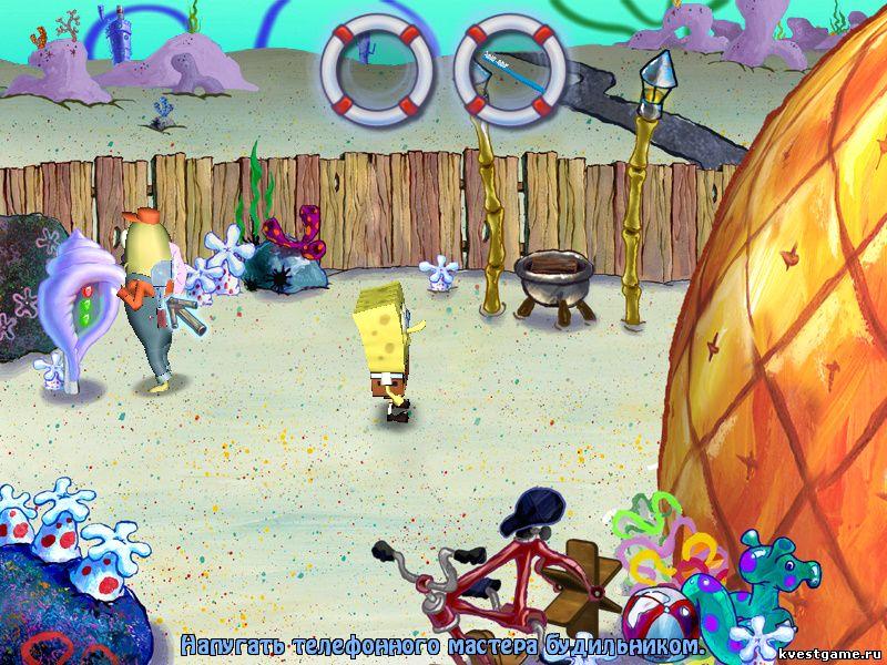 Игры для губка боб игры губка боб квадратные штаны на двоих